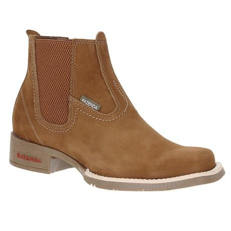 Botina Fazenda Boots Masculina Castor 23446