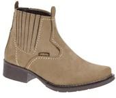 Botina Feminina Marrom Bico Redondo Roper - Urbana Boots 19269