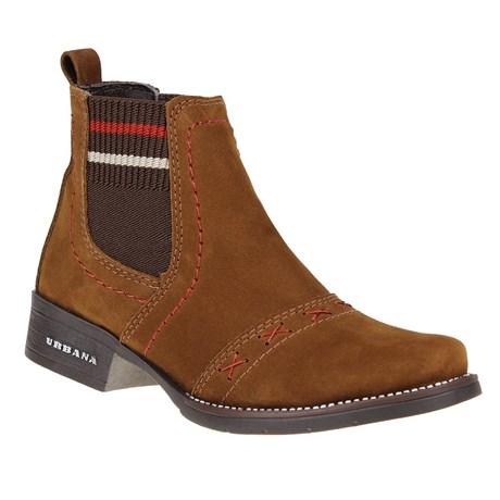 Botina Feminina Urbana Boots Marrom 24828