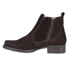 Botina Marrom Feminina Bico Redondo Urbana Boots 24646