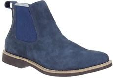 Botina Masculina Azul Urbana Boots Cano Curto 21535