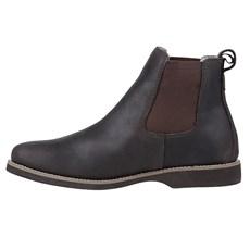 Botina Masculina de Couro Urbana Boots Café 23958