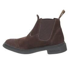 Botina Masculina Marrom Bico Redondo Urbana Boots 28673