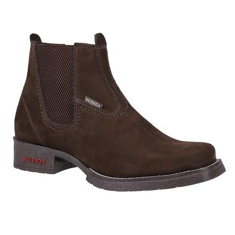 Botina Masculina Marrom Fazenda Boots 24018
