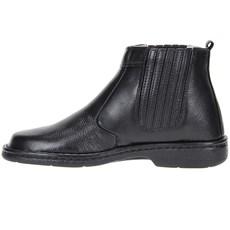 Botina Masculina Preta Bico Redondo - Urbana Boots 19272