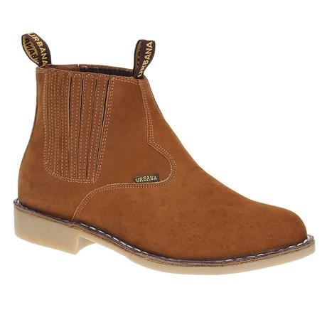 Botina Vira Francesa Masculina Bico Redondo Roper - Urbana Boots 19275