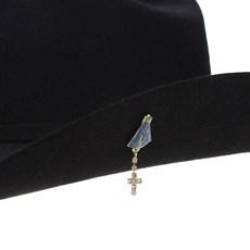 Boton para Chapéus e Bonés Nossa Senhora com Strass Rodeo West 23565