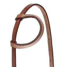 Cabeçada 1 Orelha em Couro para Cavalo Rodeo West 28223