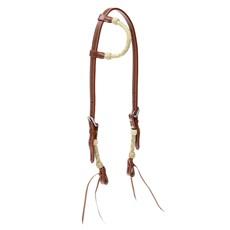 Cabeçada 1 Orelha Importada de Couro com Charroa Invervo Boots Horse 27677