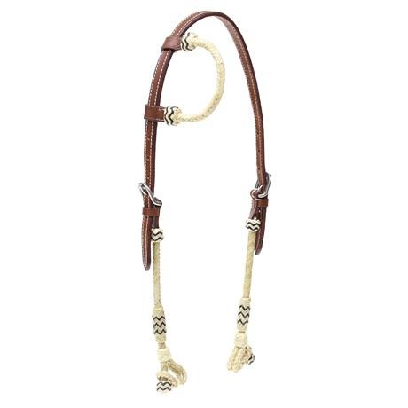 Cabeçada 1 Orelha Importada de Couro e  Invervo Boots Horse 27678