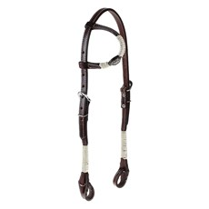 Cabeçada 1 Orelha para Cavalo com Charroas e Aplique Estrela Rodeo West 25472