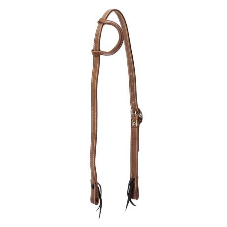 Cabeçada 1 Orelha para Cavalo de Couro Rodeo West 26339