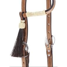 Cabeçada com 1 Orelha para Cavalo Rodeo West Natural 22265