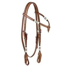 Cabeçada com Testeira para Cavalo Top Equine 24726