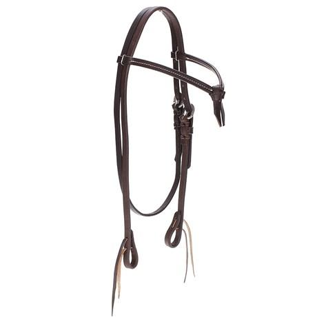 Cabeçada de Cavalo com Testeira Nó e Afogador Top Equine 22353