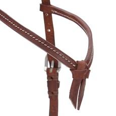 Cabeçada de Couro para Cavalo com Testeira Nó - Top Equine 19407
