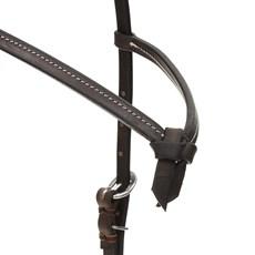 Cabeçada de Couro para Cavalo com Testeira Nó Top Equine 29212