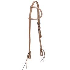 Cabeçada de Couro para Cavalo Top Equine 1 Orelha 21329