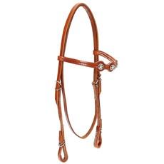 Cabeçada para Cavalo com Afogador Bronc-Steel Havana 21902