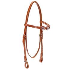 Cabeçada para Cavalo com Afogador Bronc-Steel Havana 21903