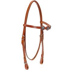 Cabeçada para Cavalo com Afogador Bronc-Steel Havana 21904