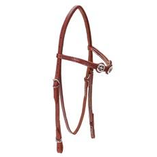 Cabeçada para Cavalo com Afogador Bronc-Steel Havana 23681