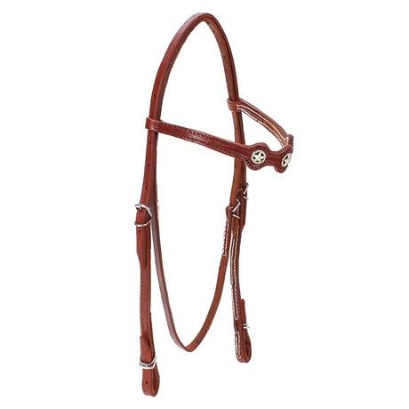 Cabeçada para Cavalo com Afogador Bronc-Steel Havana 23682