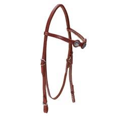 Cabeçada para Cavalo com Afogador Bronc-Steel Havana 23683