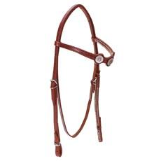 Cabeçada para Cavalo com Afogador Bronc-Steel Havana 23684