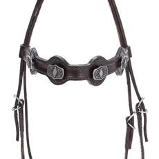 Cabeçada para Cavalo com Afogador Bronc-Steel Marrom 21926