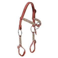 Cabeçada para Cavalo com Testeira e Argolas Inox 28064