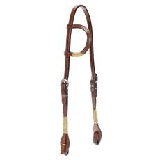 Cabeçada para Cavalo de Couro 1 Orelha Rodeo West 22449