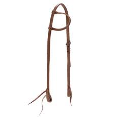 Cabeçada para Cavalo de Couro 1 Orelha Top Equine 23847