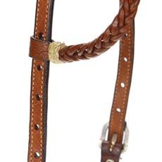 Cabeçada para Cavalo Trançada 1 Orelha Rodeo West 22452