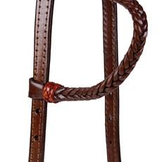 Cabeçada para Cavalo Trançada 1 Orelha Rodeo West 24078
