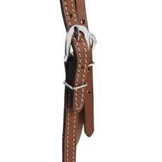 Cabeçada Testeira de Couro Natural com Oléo Rodeo West 25990