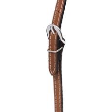 Cabeçada Testeira de Couro Natural com Oléo Rodeo West 27859