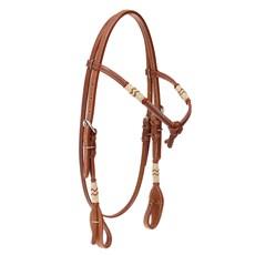 Cabeçada Testeira para Cavalo com Charroas de Inervo Top Equine 28028