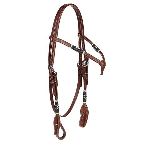 Cabeçada Testeira para Cavalo Top Equine 24708