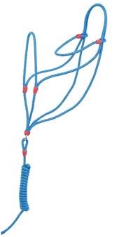 Cabresto Azul para Cavalo Fabricado em Polipropileno - Bronc-Steel 18397