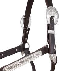 Cabresto de Couro para Cavalo Conformação Tough1 23038