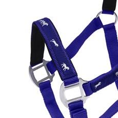 Cabresto de Nylon Azul para Cavalo com Cabo Instep 27309