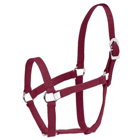 Cabresto de Nylon para Cavalo Instep Vinho 26180