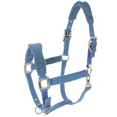 Cabresto para Cavalo Fabricado em Nylon Azul Claro com Cabo - Lami-Cell 15202