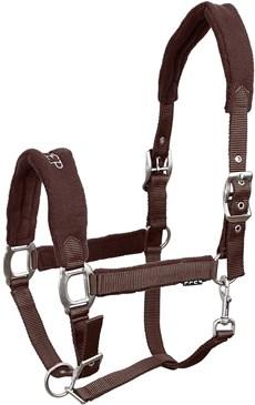 Cabresto para Cavalo Fabricado em Nylon Marrom Instep 15315