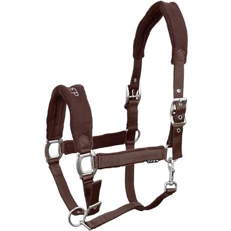 Cabresto para Cavalo Fabricado em Nylon Marrom - Instep 15315