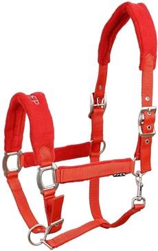 Cabresto para Cavalo Fabricado em Nylon Vermelho Instep 15317