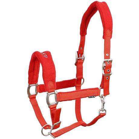 Cabresto para Cavalo Fabricado em Nylon Vermelho - Instep 15317