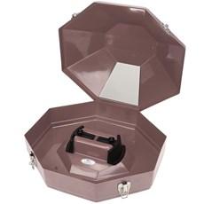 Caixa para Chapéu Importada Marrom Claro - Hammer 15526