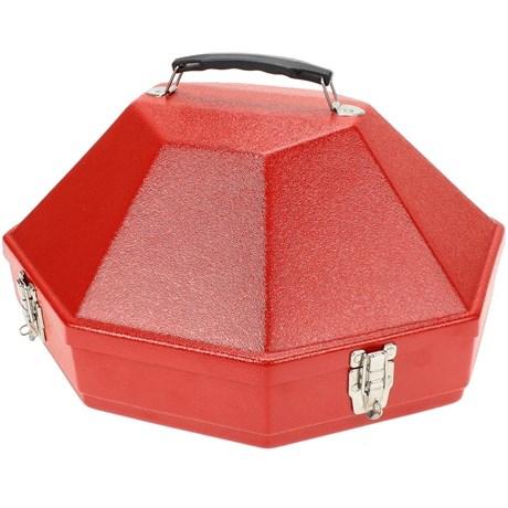 Caixa para Chapéu Importada Vermelha - Hammer 15525